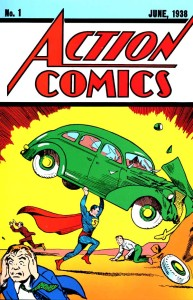Action comics - 1er numero Superman